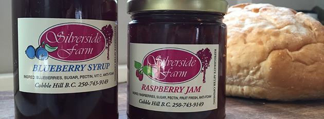 Silverside Farm Berry Syrups, Jams & Jellies
